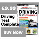 Driving Test Complete Banner